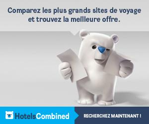 Economisez sur votre réservation d'hôtel grâce à hotelscombined.fr